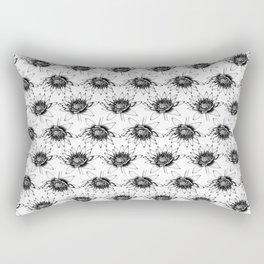 Open Lotus Flower Rectangular Pillow
