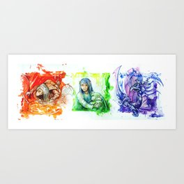 DARK CRYSTAL Art Print