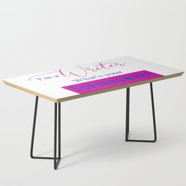 Writer Superpower Coffee Table
