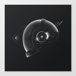 Space Helmet Canvas Print