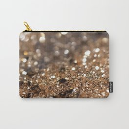 Gold Night Lady Glitter #1 #shiny #decor #art #society6 Carry-All Pouch