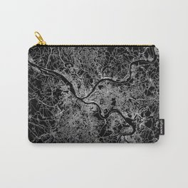 pittsburgh map Carry-All Pouch