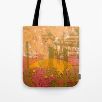 bamboo Tote Bags featuring Bamboo  by dominiquelandau