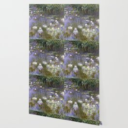 Water Lilies 1922 by Claude Monet Wallpaper