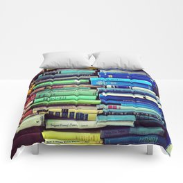 Rainbow Books Comforters
