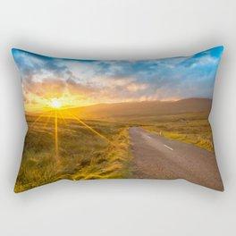 Sunset Wicklow Mountains Ireland Rectangular Pillow
