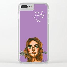 Sagitario Clear iPhone Case