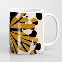 rorschach Mugs featuring Rorschach Monarch by AdamAether