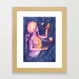 A Dance In The Dark Framed Art Print