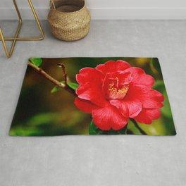 Camellia japonica Rug