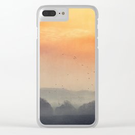 I burn for you Clear iPhone Case