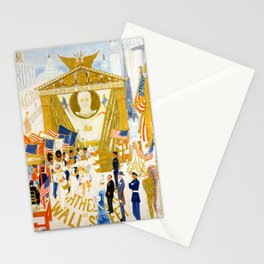 The Cathedrals of Wall Street by Florine Stettheimer, 1939 Stationery Cards