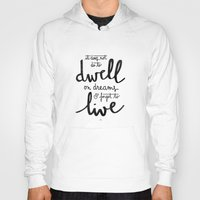 snape Hoodies featuring Dwell on dreams by Earthlightened