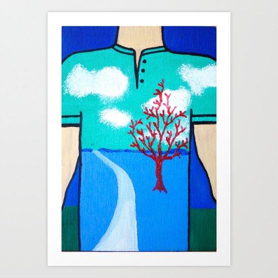 Togetherness 3 Art Print