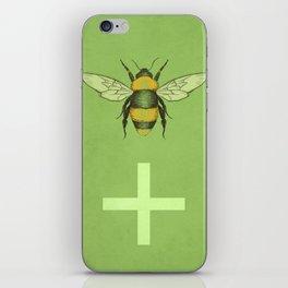 Bee Positive iPhone Skin