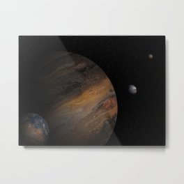 Remembering Endor Metal Print
