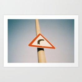 Street Sign Art Print