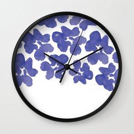 Sweet Pea's Petals  Wall Clock