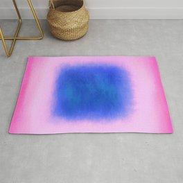 Blue Pink Colourscape Rug