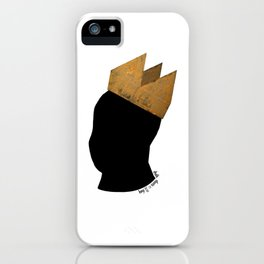Crowned Head Tee (KNG) iPhone Case