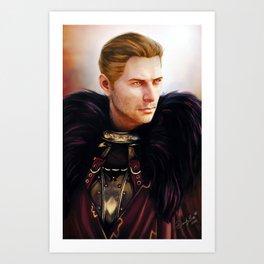 Commander Cullen Art Print
