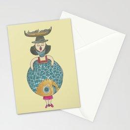 Encaración la Poissonnière Stationery Cards