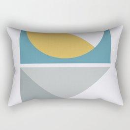 Geometric Form No.2 Rectangular Pillow