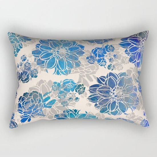 Flower Pattern Design #2 Rectangular Pillow