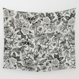 Botanical Pattern II Wall Tapestry
