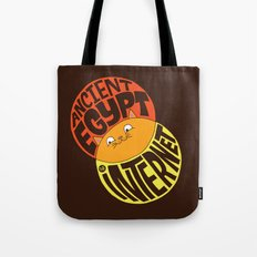 Ancient Egypt, The Internet, Cats Tote Bag