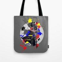 vader Tote Bags featuring VADER by vicotera
