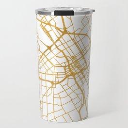SAN JOSE CALIFORNIA CITY STREET MAP ART Travel Mug