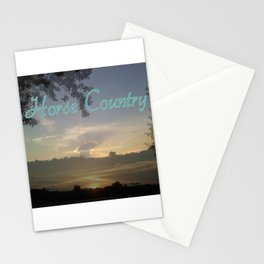 """""""Horse Country"""" Stationery Cards"""