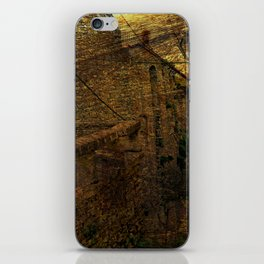 landscape abstract vitage iPhone Skin