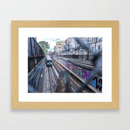 Graffiti 'L' Framed Art Print
