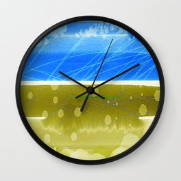 The Heron-Priested Shore Wall Clock
