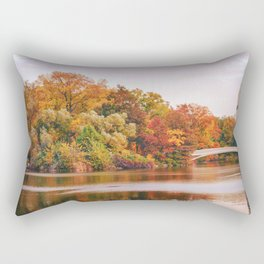 Autumn Colors Are the Best Colors - New York City Rectangular Pillow
