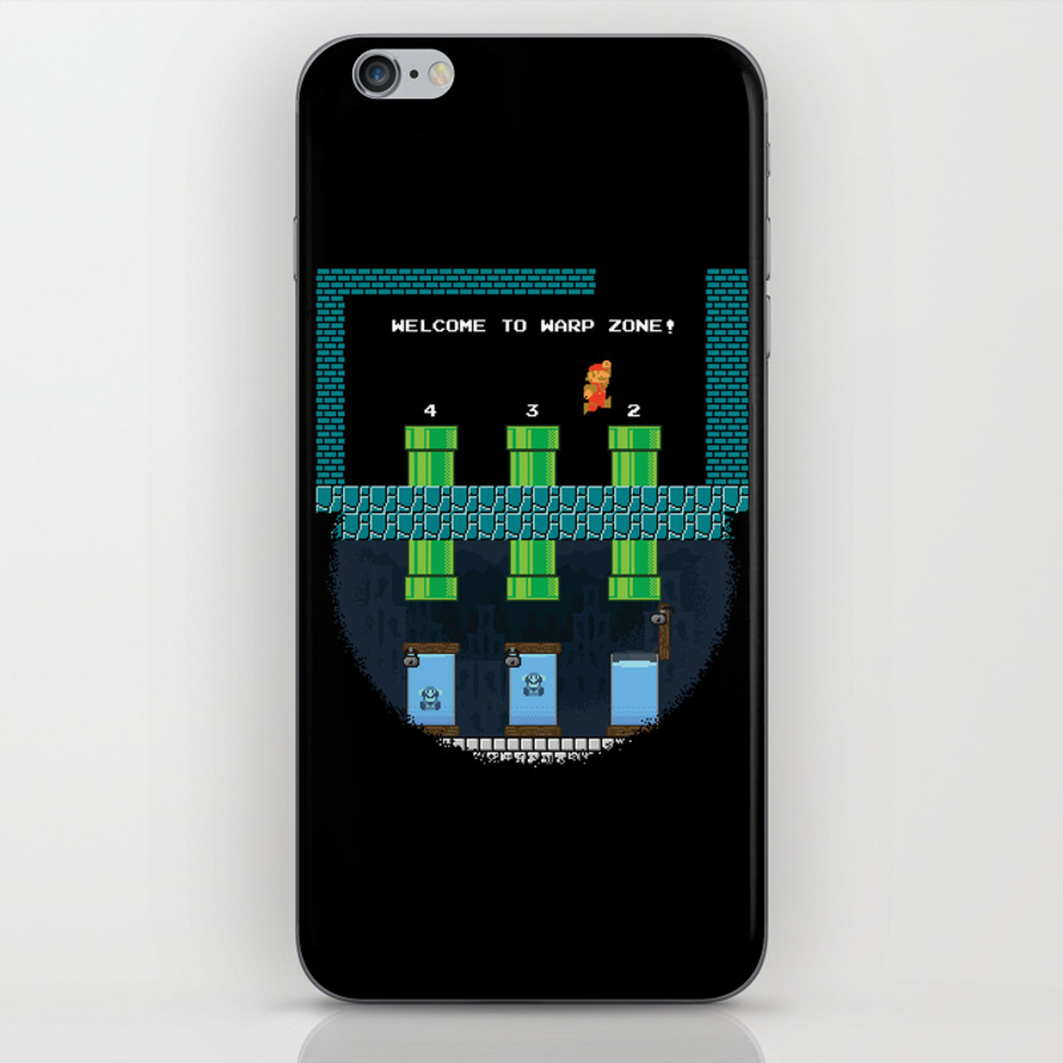 Mario Prestige iPhone Skin by cracked