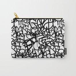 Graffiti Pattern   Street Art Urban Graphic Carry-All Pouch