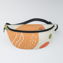Quirky Australian King Parrot Fanny Pack