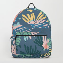 ABSTRACT PASTEL CORAL PATTERN Backpack