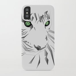 Tiger's  Soul iPhone Case