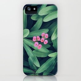 pink gooey iPhone Case