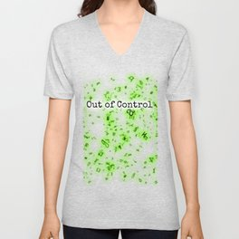 Out of Control [Green] Unisex V-Neck