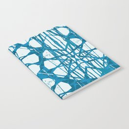 Blue and White Batik  Notebook