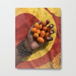 Sunrise and kamquats Metal Print