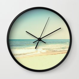 Foaming Wave Wall Clock