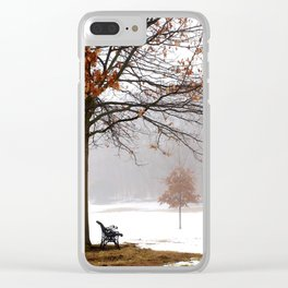 A Place for Reflection Clear iPhone Case
