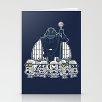 minions Stationery Cards featuring Stormtrooper Minions by Hugo Martin