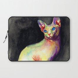 White Sphynx Laptop Sleeve